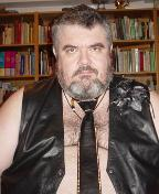 BC4U as Leather Daddy with Leather / Rhinestone Tie