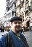 Me, doing the tourism thing in Brussels, Belgium