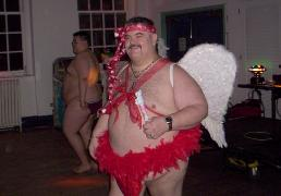 Another CUPID picture from the Big Mens Club Valentine Party